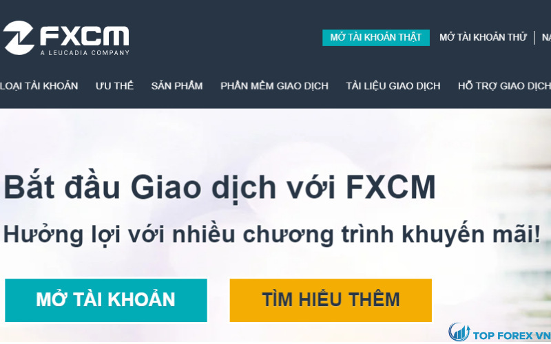 Đánh giá sàn FXCM