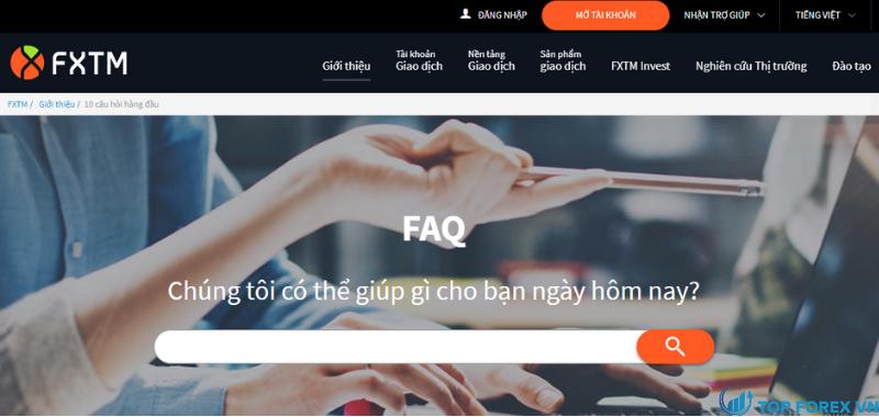 FAQ FXTM