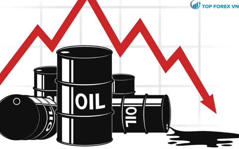 Giá dầu giảm