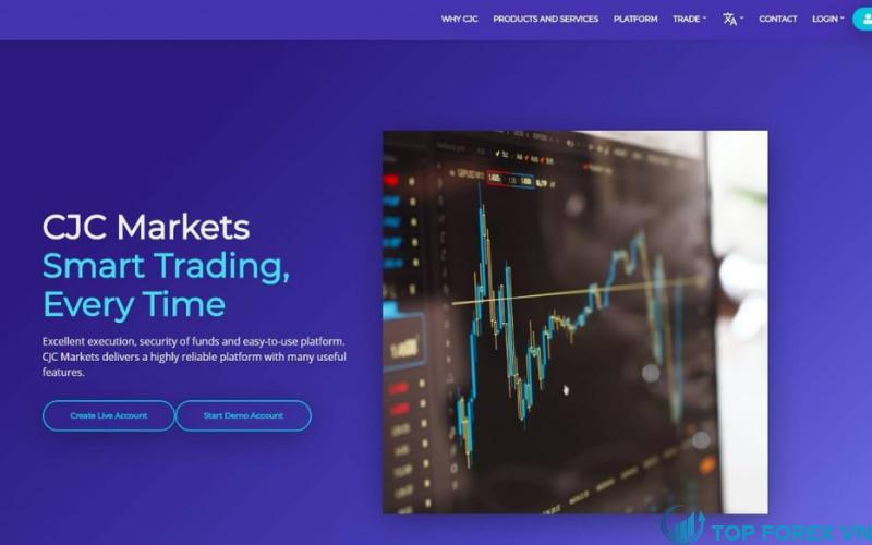 Đánh giá sàn CJC Markets
