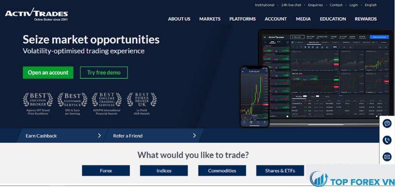 Sàn Activ Trades