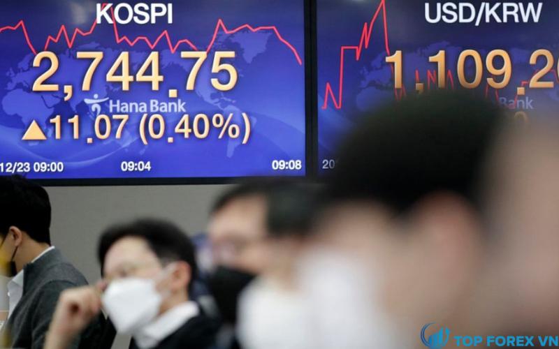 Chứng khoán châu Á dự kiến tăng vào thứ sáu