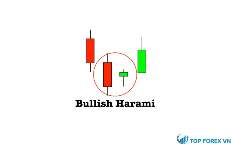 Nến Bullish Harami