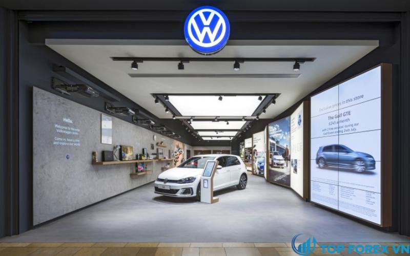 Volkswagen phát triểncác mẫu xe điện nhằm giành được vị thế của Tesla.
