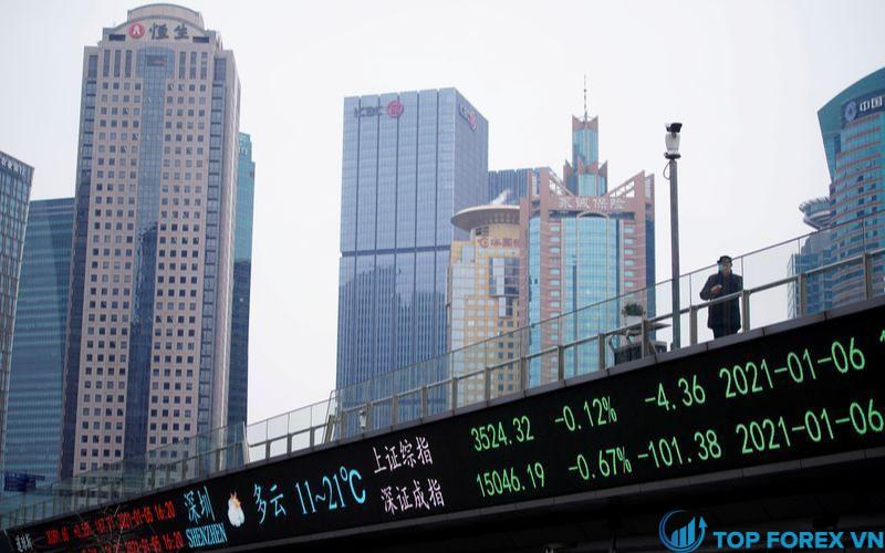 Cổ phiếu Trung Quốc tăng trở lại sau kỳ nghỉ Tết Nguyên Đán
