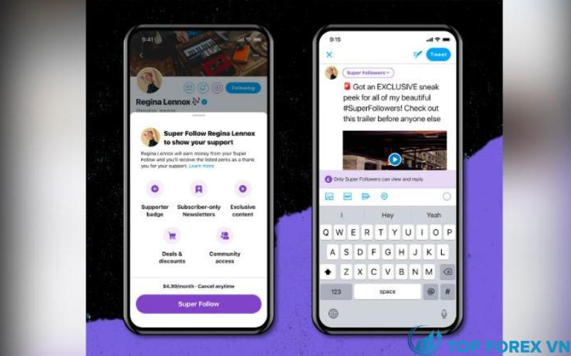 Super Follows sẽ cho phép người dùng trả tiền cho người sáng tạo