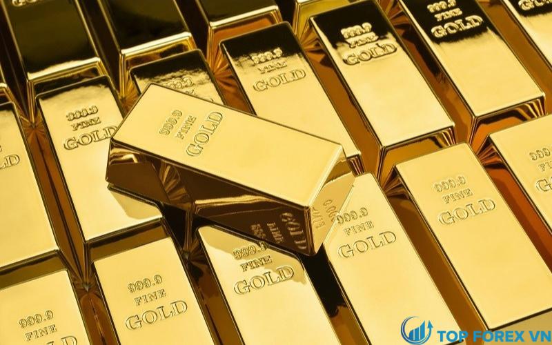 Vàng giao ngay tăng hơn 1%