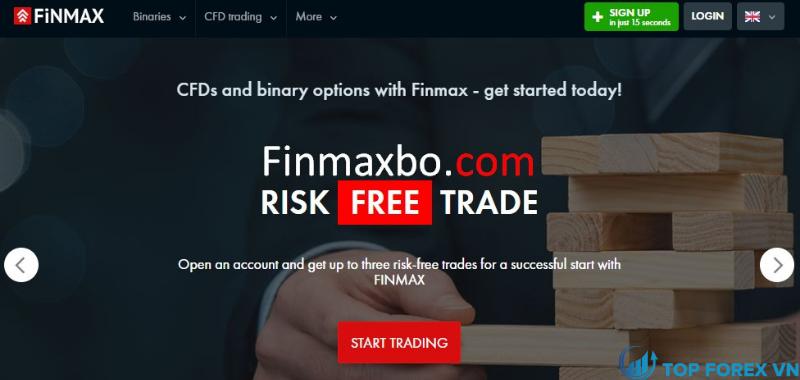 Đánh giá sàn Finmax