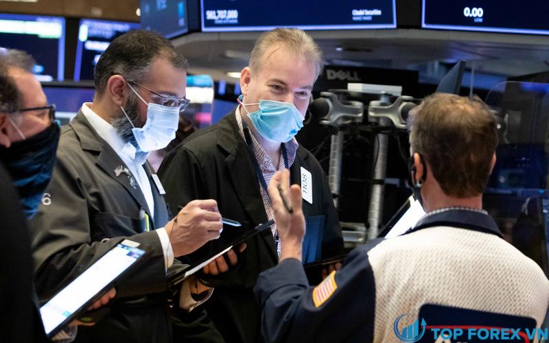 Chỉ số Dow Jones tăng