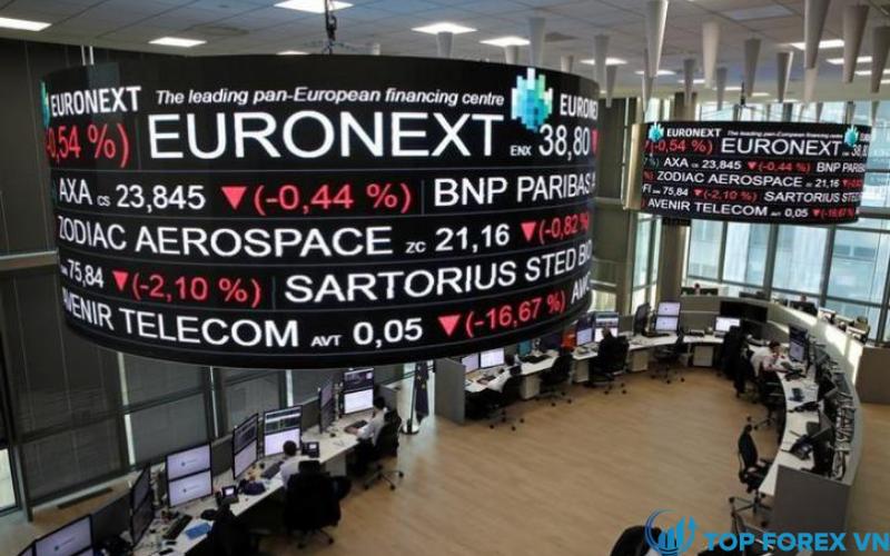 Chứng khoán châu Âu tăng khi đóng cửa