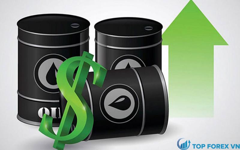 Giá dầu tăng