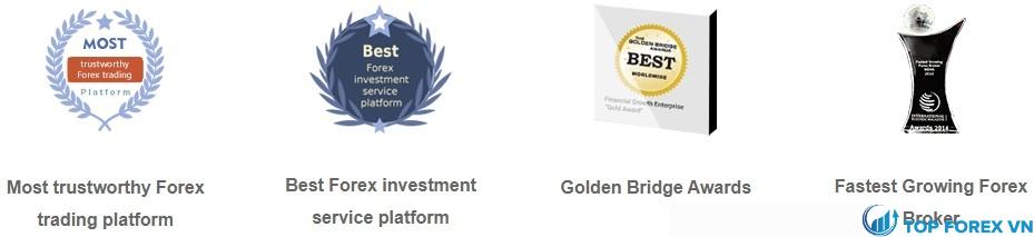Một số giải thưởng FT Markets đạt được