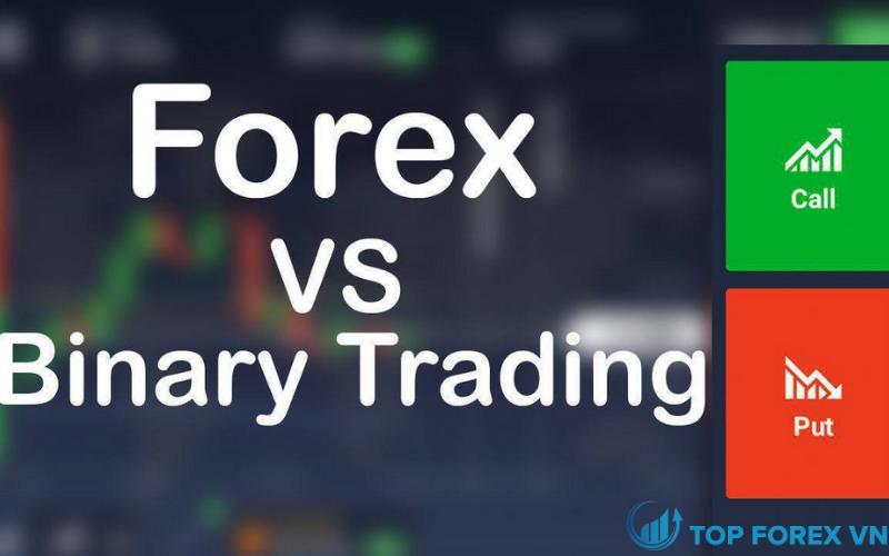 Sự khác nhau giữa Binary Option và Forex