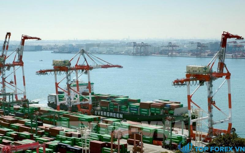 Xuất khẩu của Nhật Bản giảm