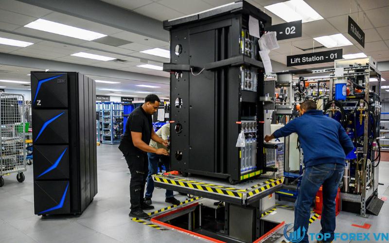 IBM ghi nhận mức tăng trưởng doanh số hàng quý cao