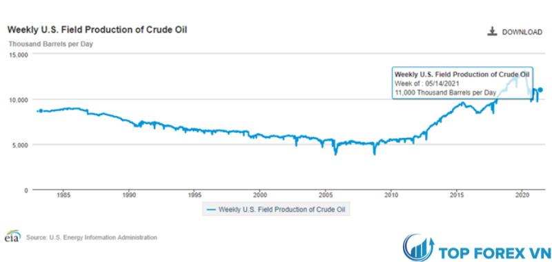 Sản lượng dầu
