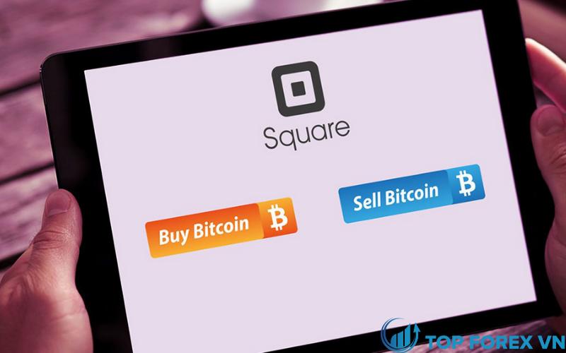 Square cung cấp mua và bán bitcoin
