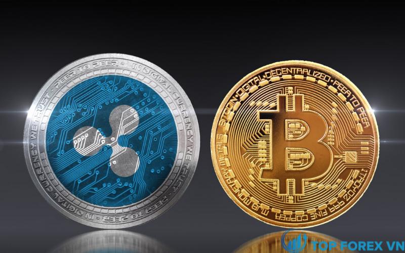 Sự khác biệt giữa tiền ảo XRP và Bitcoin