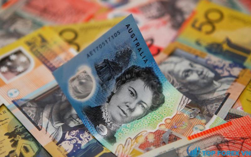 Đồng đô la Úc giảm