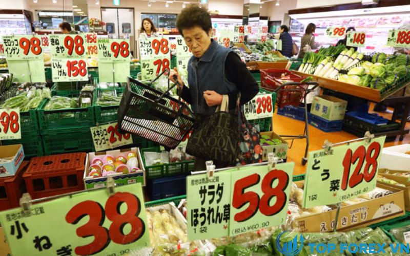 Giá tiêu dùng của Nhật Bản tăng nhẹ