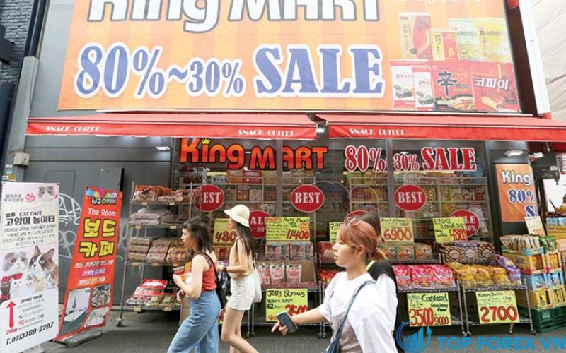 Lạm phát của Hàn Quốc tăng