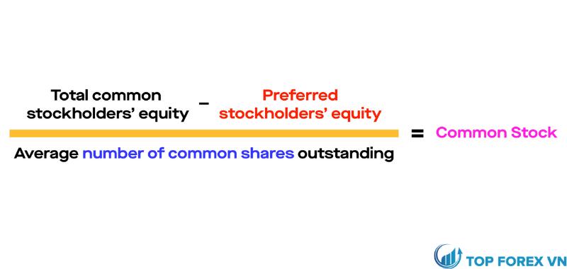 Cách tính giá trị sổ sách của common stock là gì
