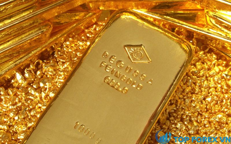 Giá vàng tăng