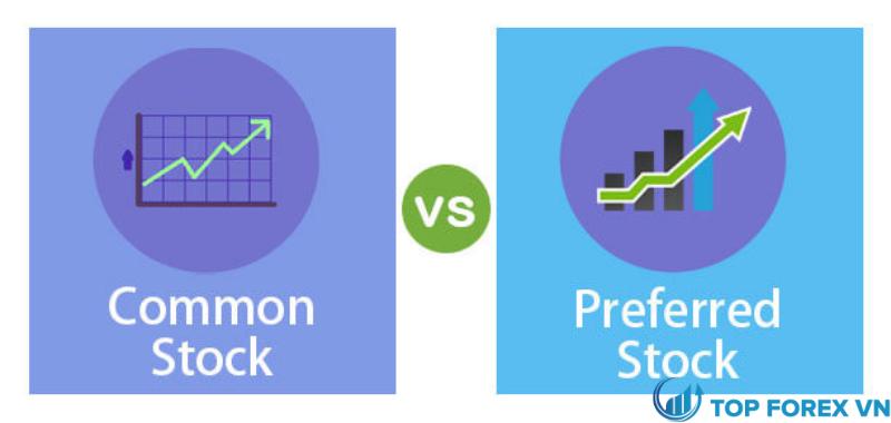 Sự khác biệt giữa cổ phiếu ưu đãi và common stock là gì